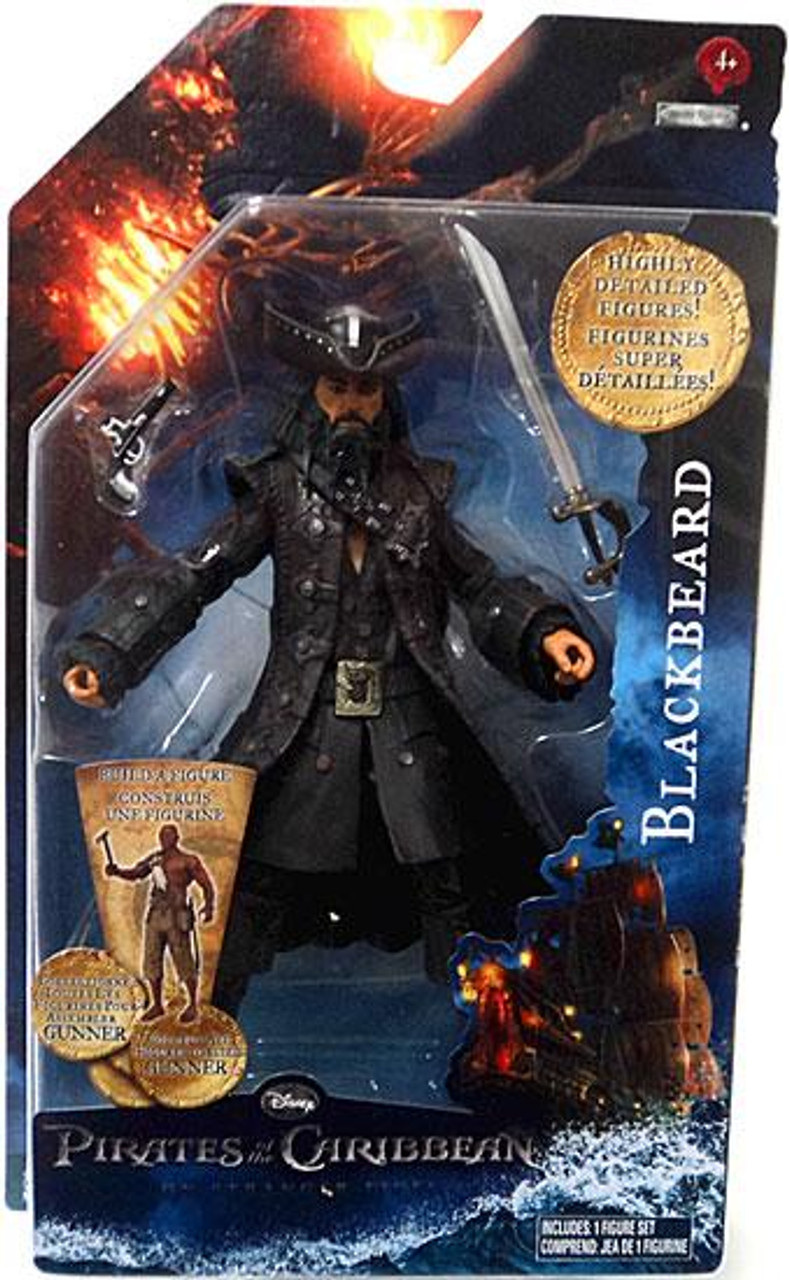 Pirates of the Caribbean On Stranger Tides Series 1 Blackbeard Action Figure