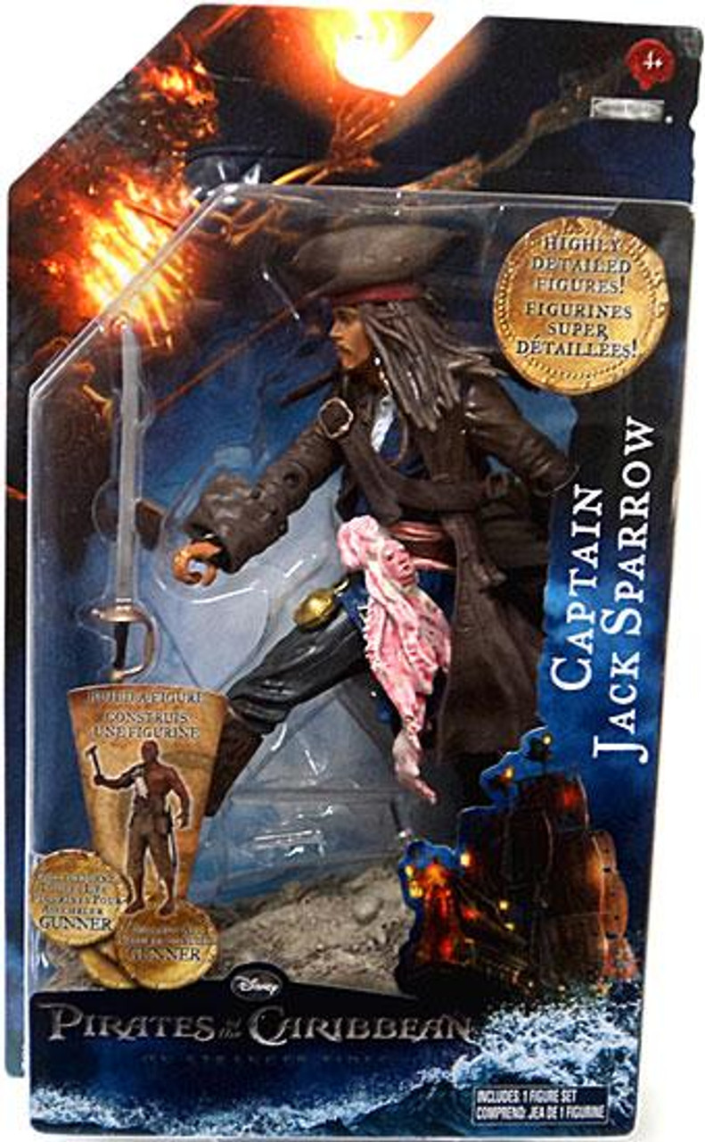 Pirates of the Caribbean On Stranger Tides Captain Jack Sparrow Action Figure