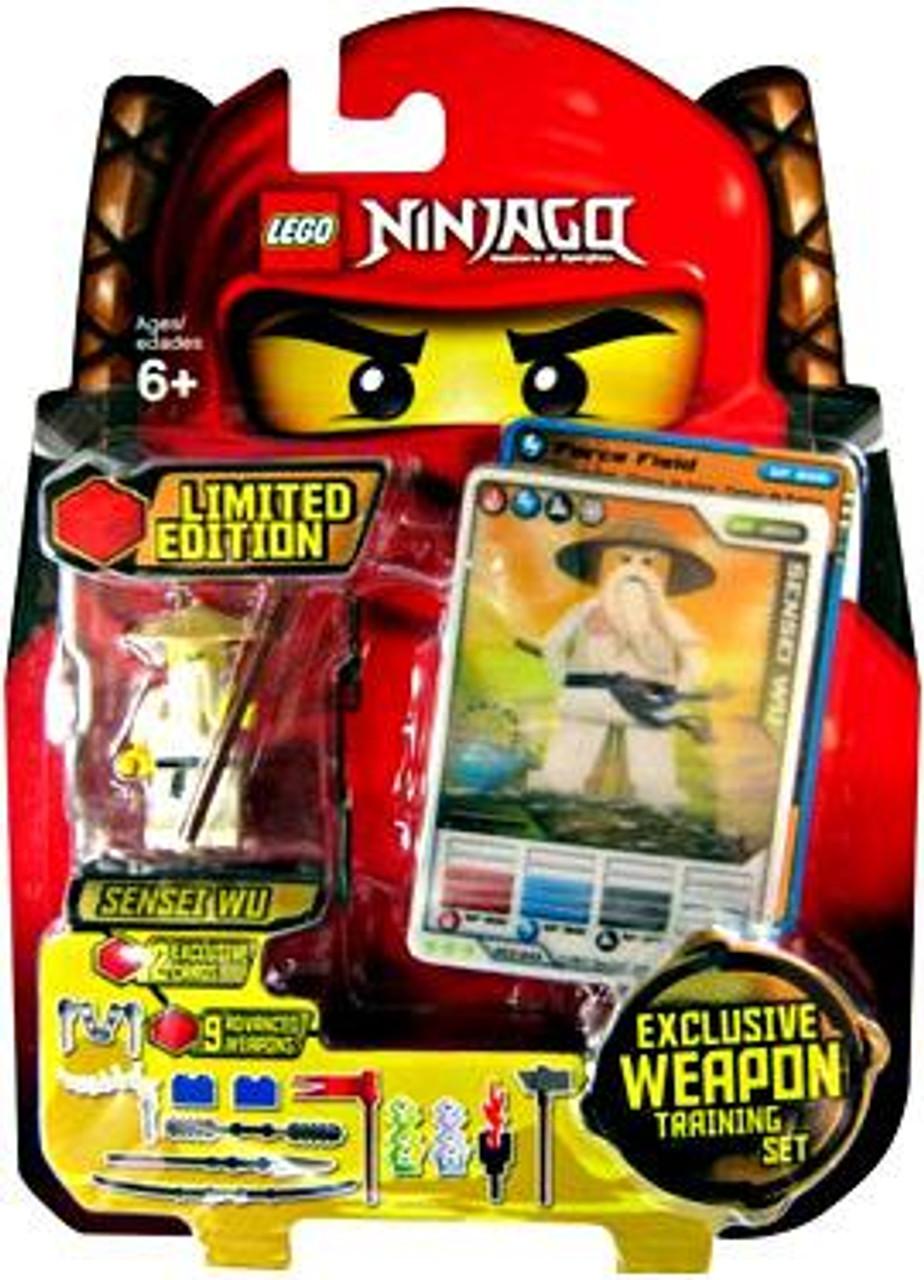 LEGO Ninjago Spinjitzu Spinners Sensei Wu Exclusive Set #853111