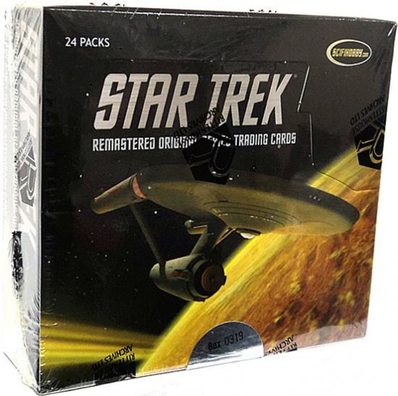 Star Trek The Original Series Remastered Original Series Trading Card Box