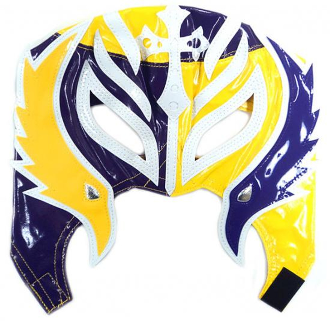 WWE Wrestling Rey Mysterio Replica Mask [Youth, Purple & Yellow]