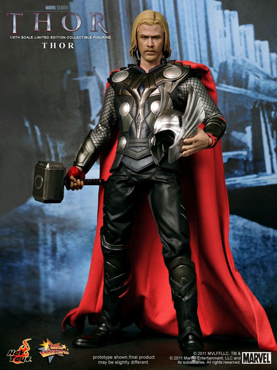 Marvel Movie Masterpiece Thor 1/6 Collectible Figure [Thor Movie]