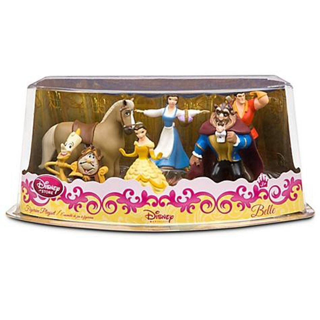 Disney Princess Beauty and the Beast Exclusive 6-Piece PVC Figure Playset