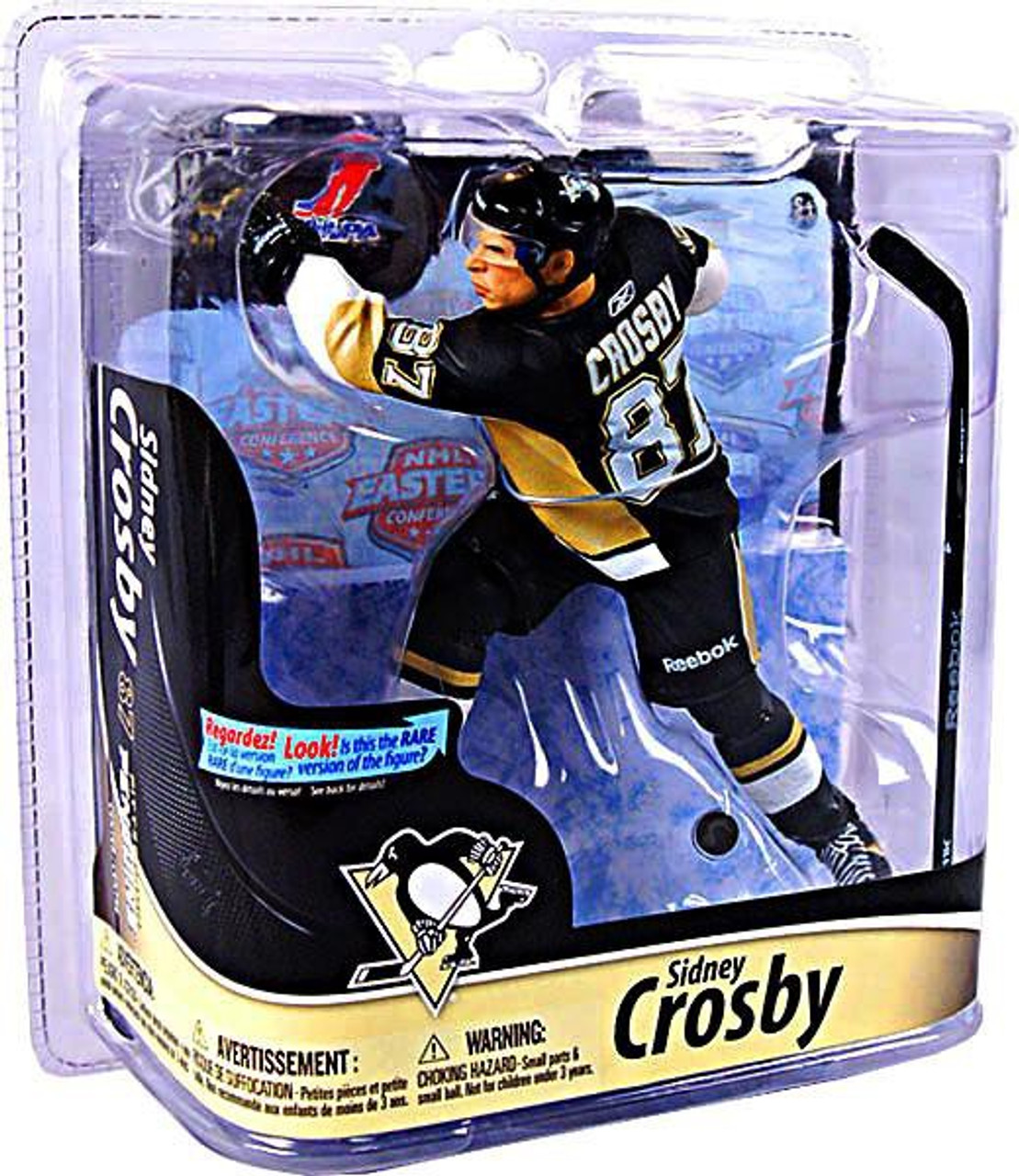 McFarlane Toys NHL Pittsburgh Penguins Sports Picks Series 28 Sidney Crosby Action Figure [Black Jersey]