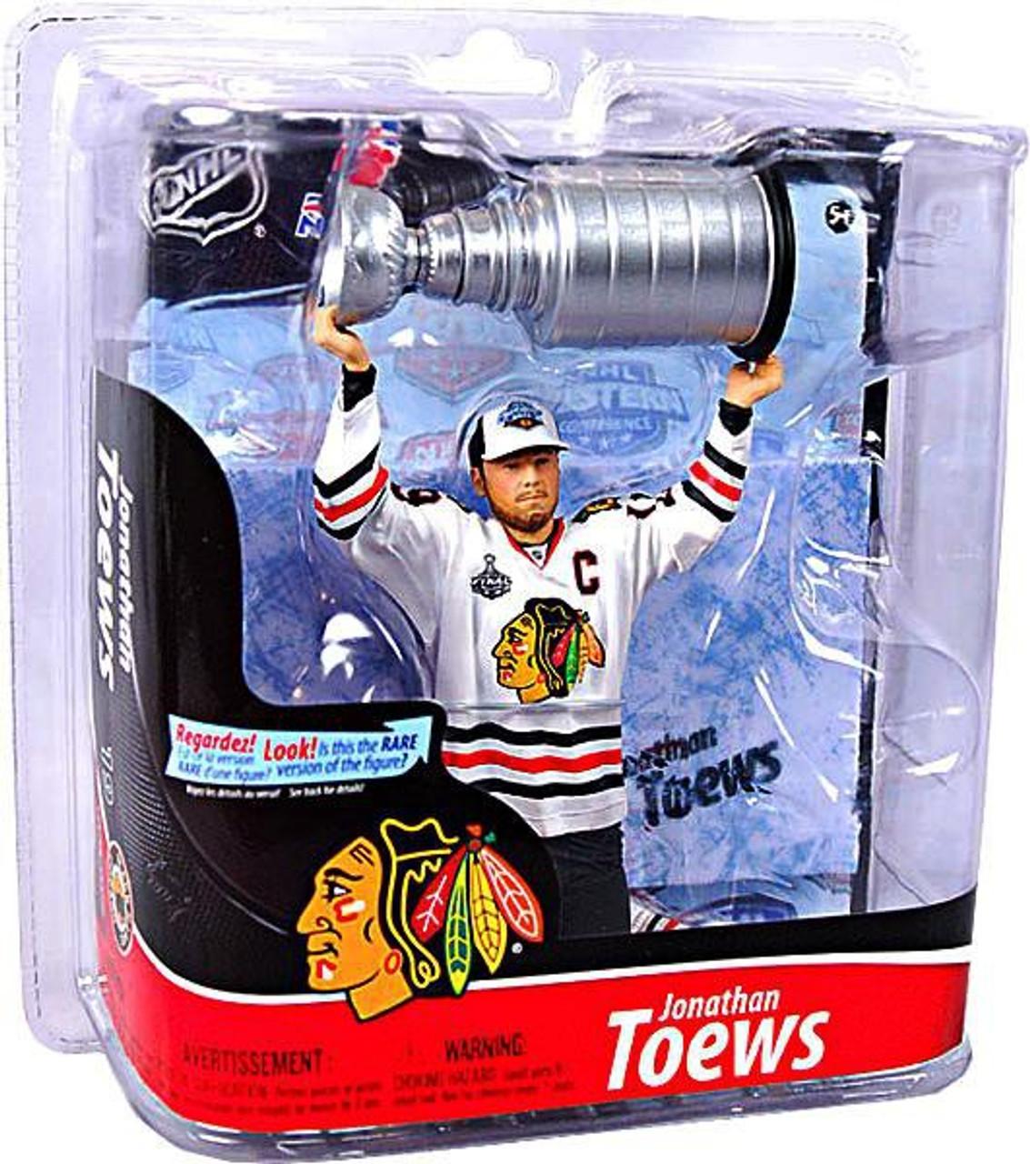 McFarlane Toys NHL Chicago Blackhawks Sports Picks Series 28 Jonathan Toews Action Figure