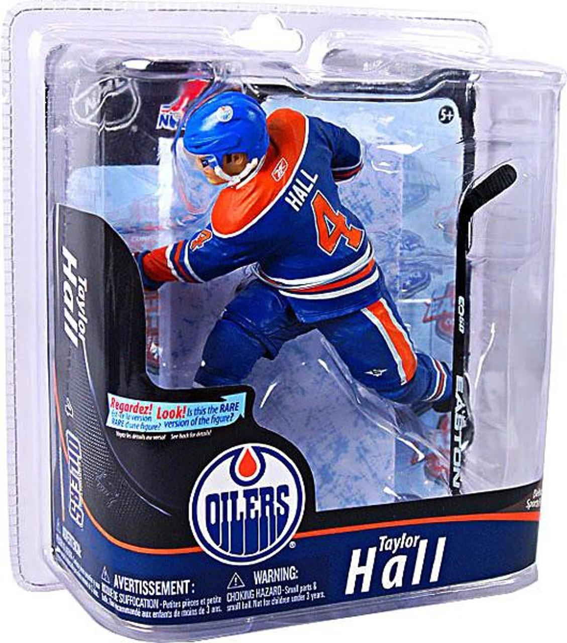 McFarlane Toys NHL Edmonton Oilers Sports Picks Series 28 Taylor Hall Action Figure [Blue & Orange Jersey]