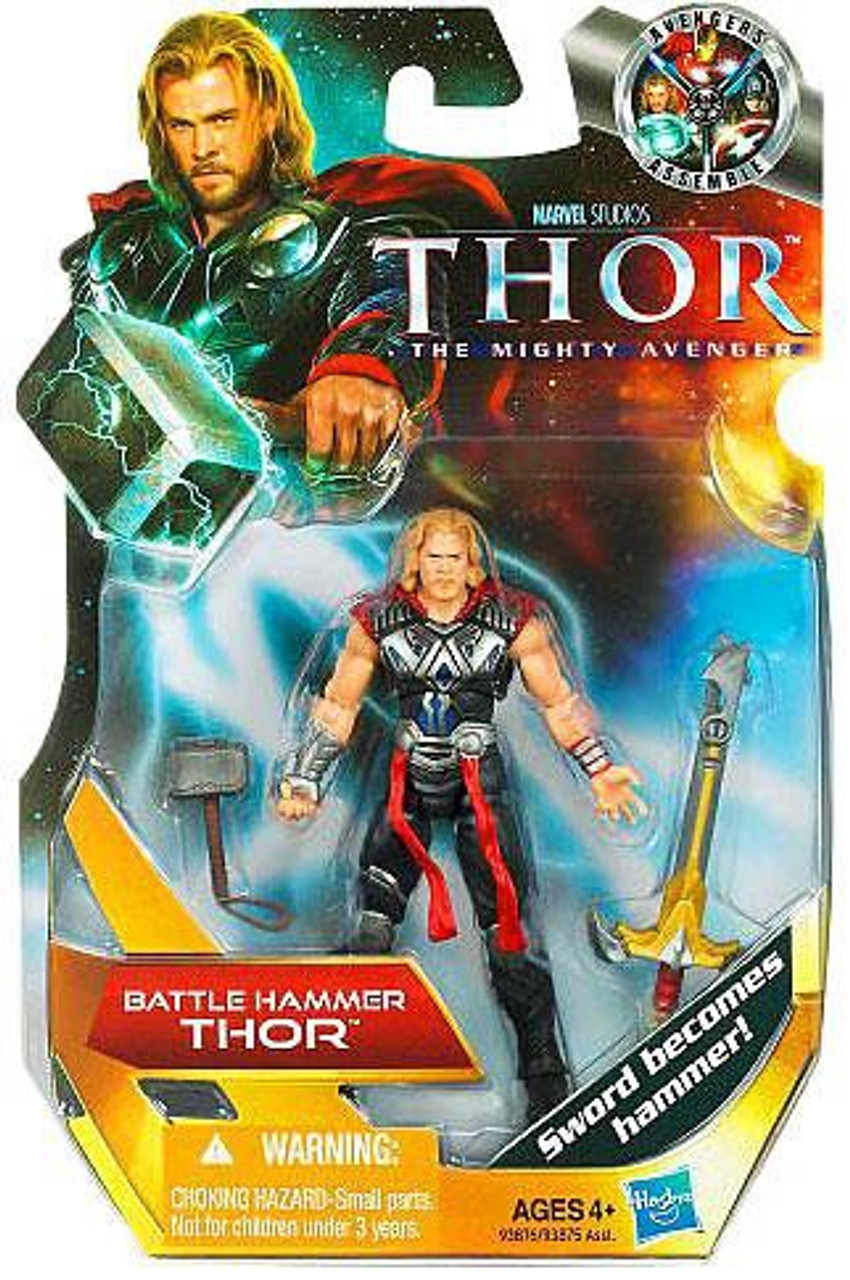The Mighty Avenger Thor Action Figure #1 [Battle Hammer]