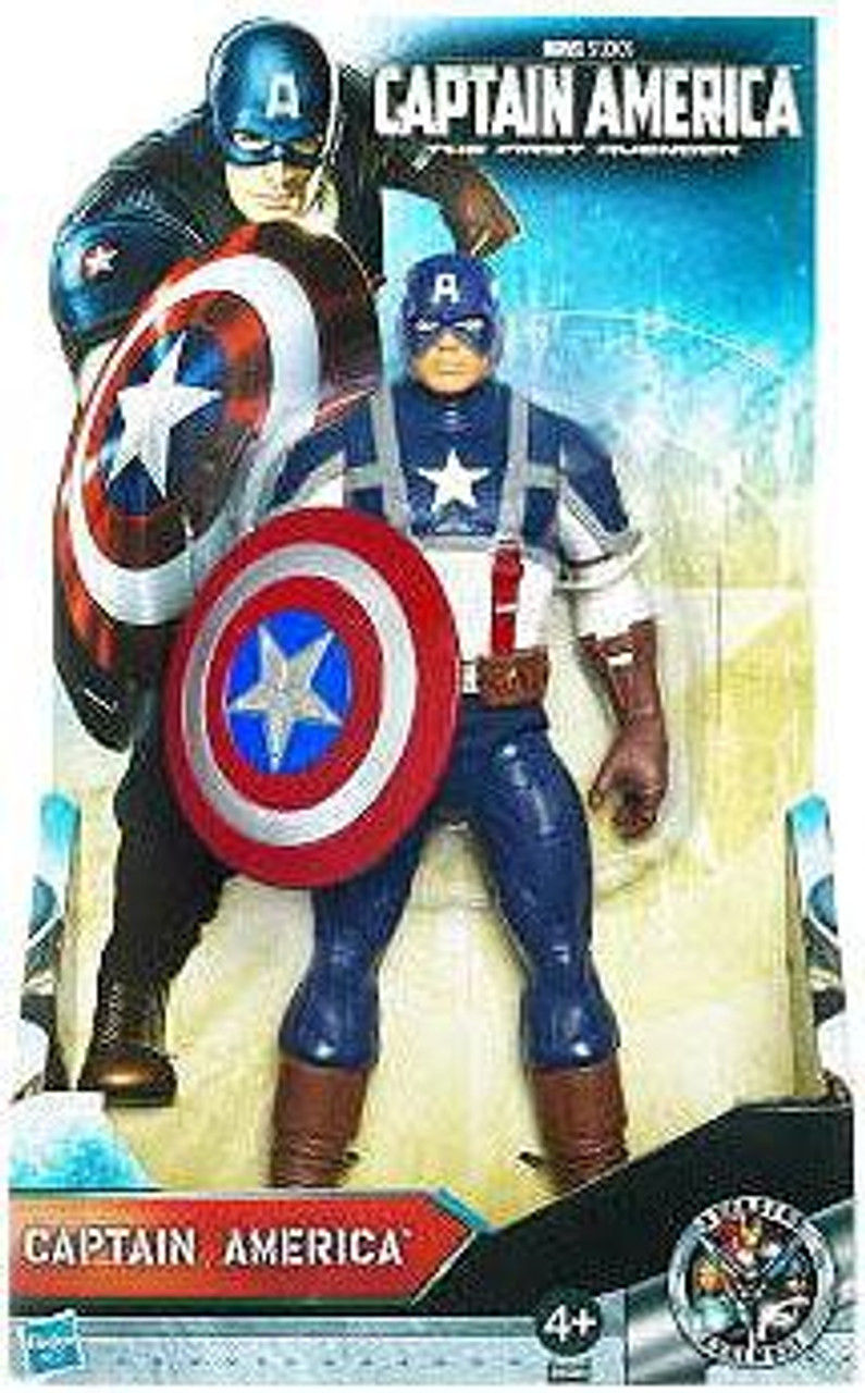The First Avenger Deluxe Captain America Action Figure