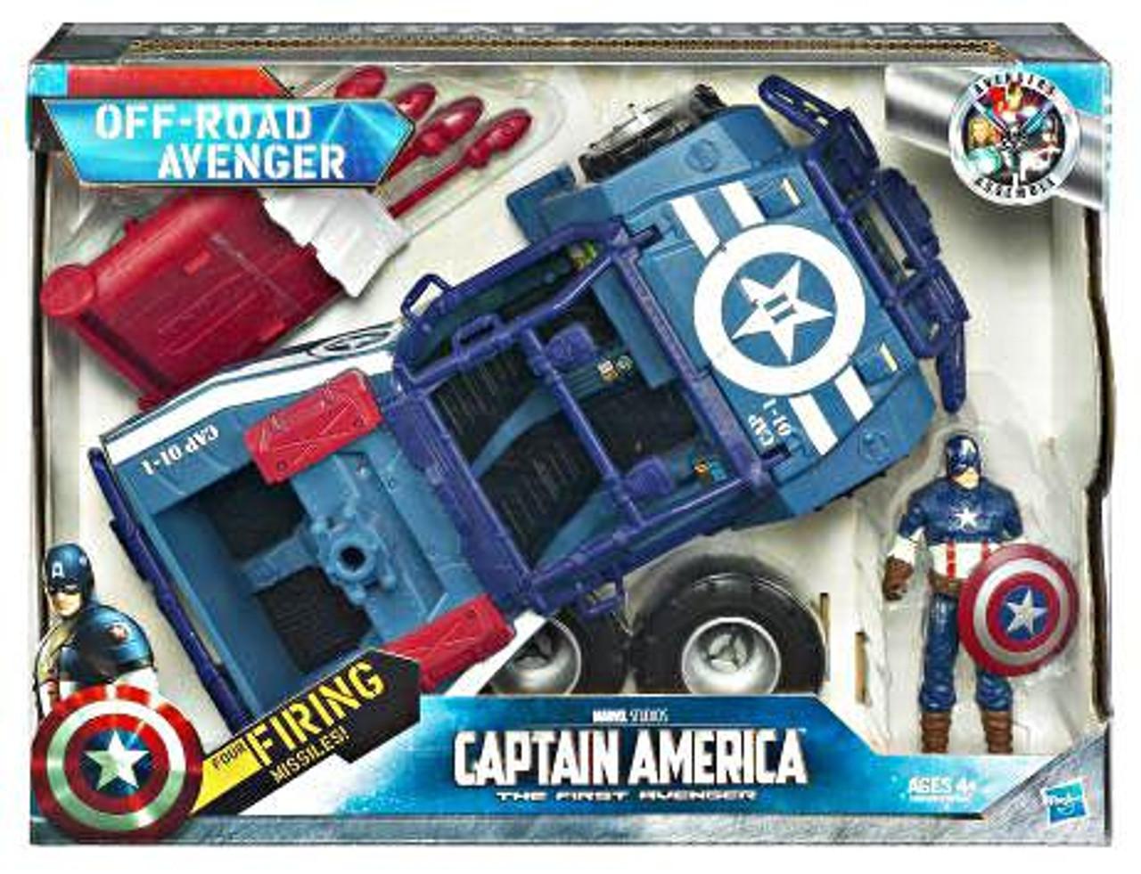 The First Avenger Captain America Movie Off-Road Avenger