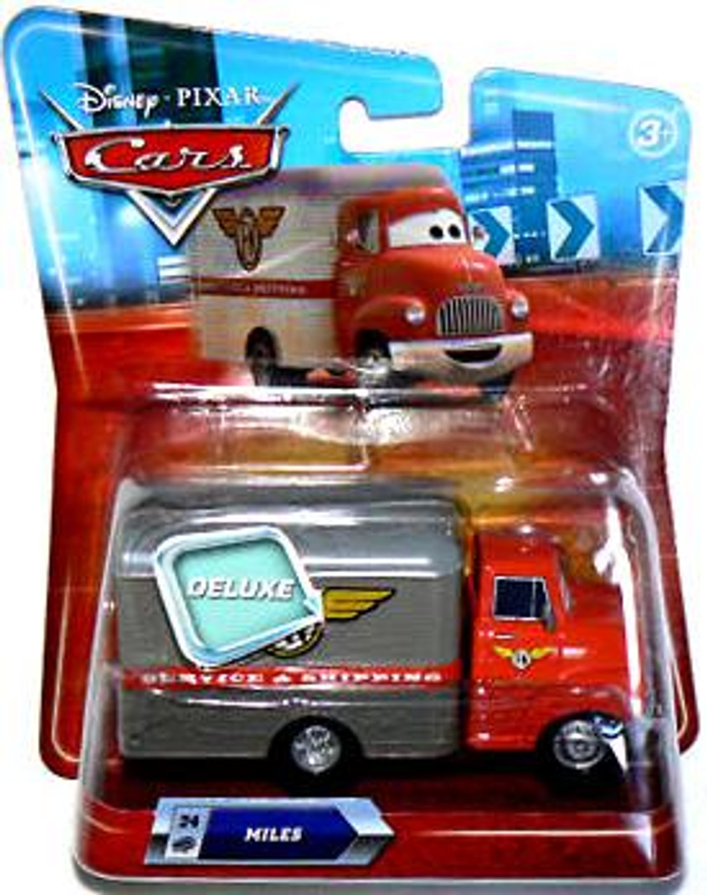 Disney Cars Deluxe Oversized Miles Diecast Car