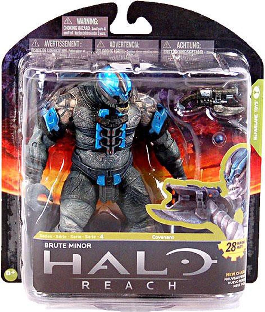 McFarlane Toys Halo Reach Series 4 Brute Minor Action Figure