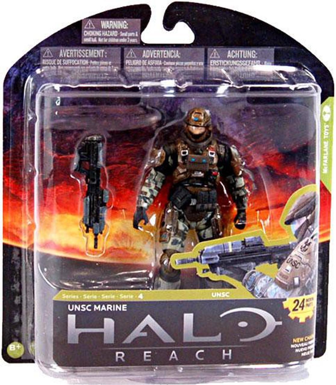 McFarlane Toys Halo Reach Series 4 UNSC Marine Action Figure