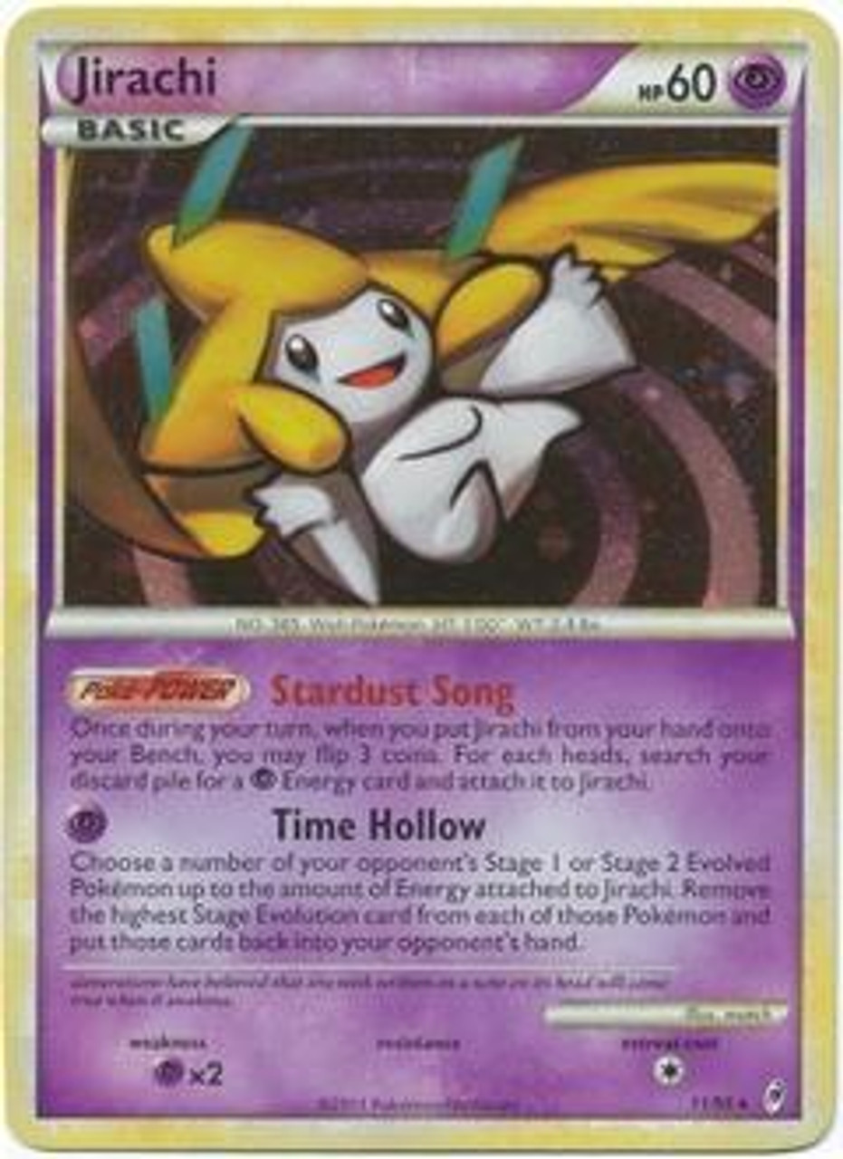 Pokemon Call of Legends Rare Holo Jirachi #11