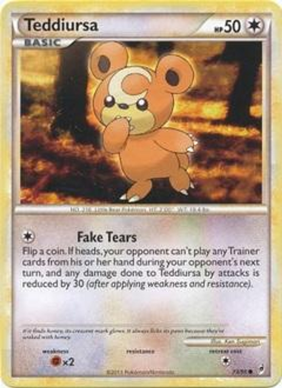 Pokemon Call of Legends Common Teddiursa #73