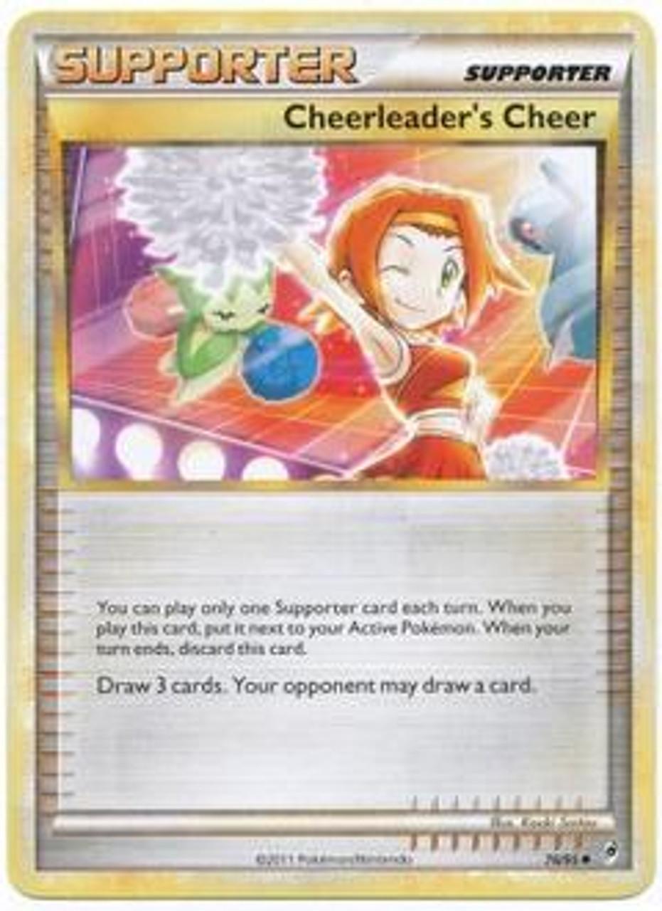 Pokemon Call of Legends Uncommon Cheerleader's Cheer #76