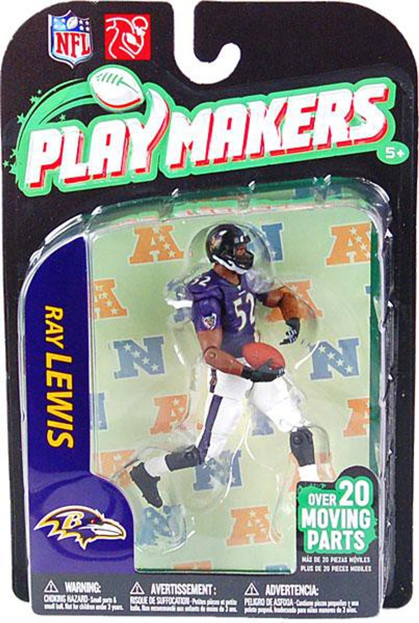 McFarlane Toys NFL Baltimore Ravens Playmakers Series 2 Extended Ray Lewis Action Figure