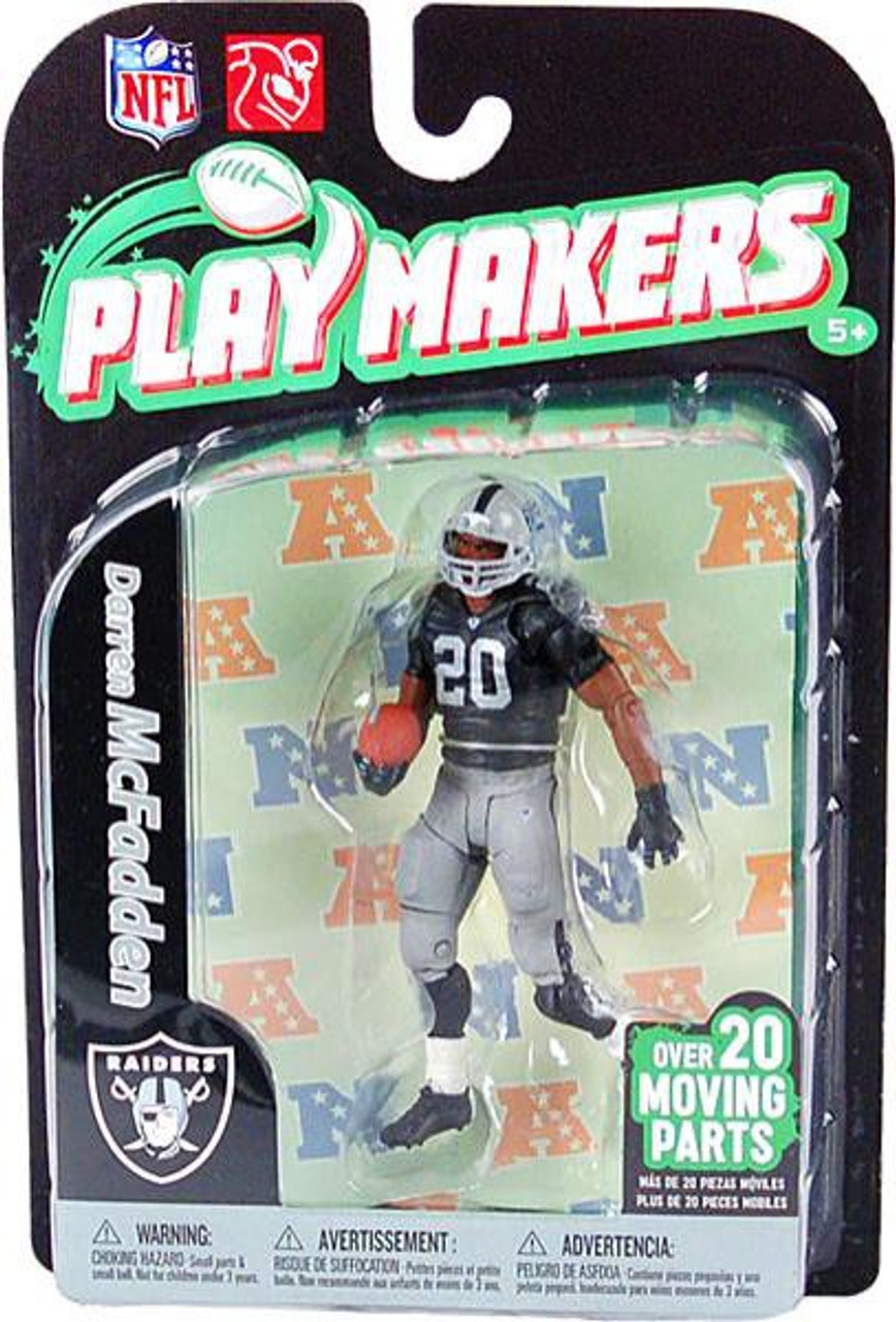 McFarlane Toys NFL Oakland Raiders Playmakers Series 2 Extended Darren McFadden Action Figure