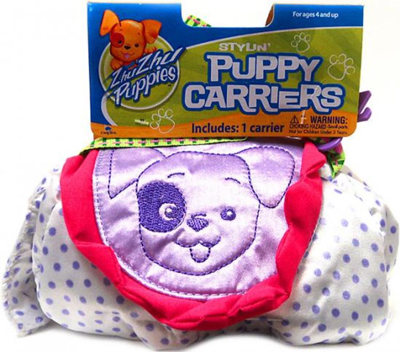 Zhu Zhu Pets Zhu Zhu Puppies Puppy Carriers Stylin' Puppy Carrier Accessory [Purple]