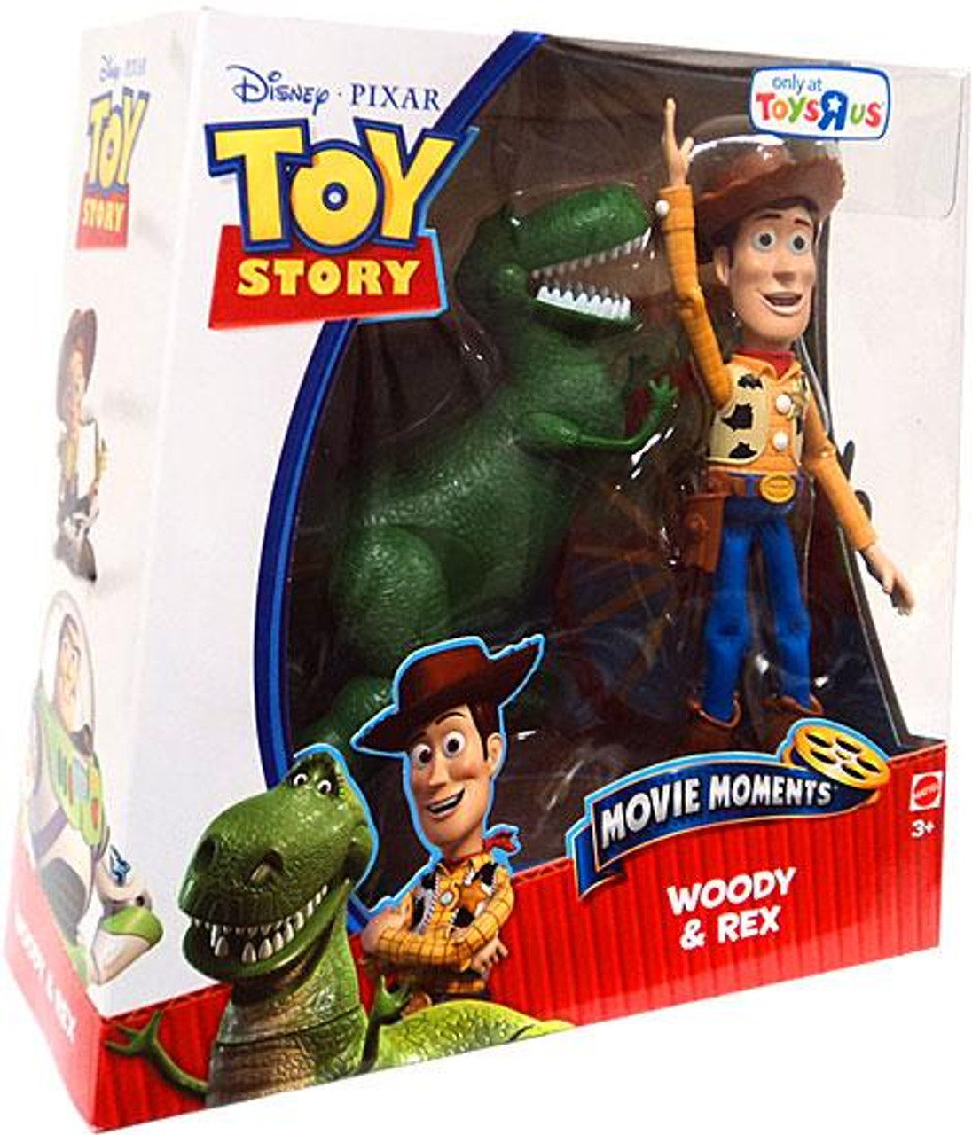 Toy Story Movie Moments Woody & Rex Exclusive Action Figure 2-Pack