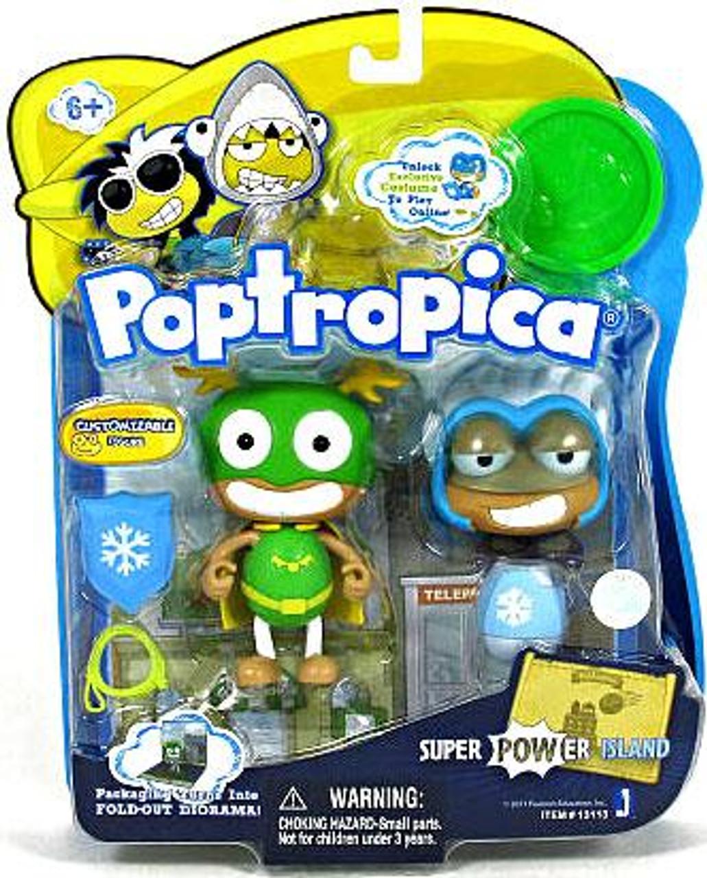 Poptropica Super Power Island 3-Inch Mini Figure 2-Pack
