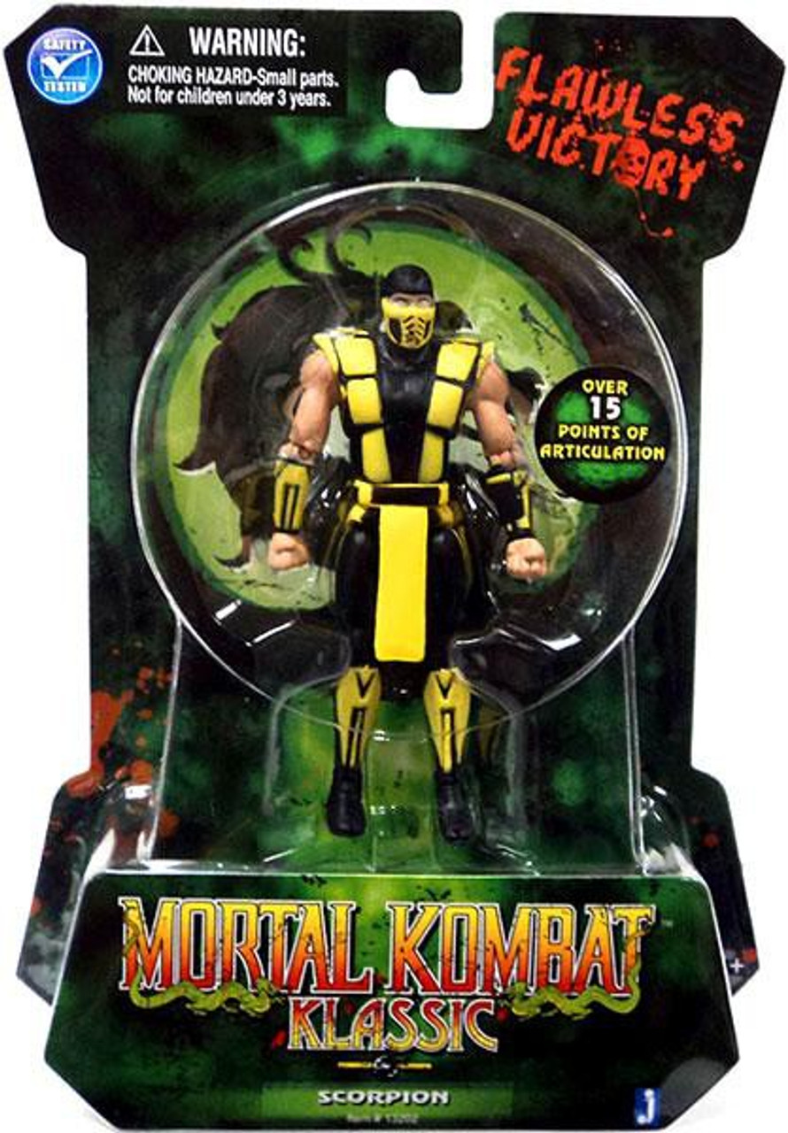 Mortal Kombat Klassic MK2 Scorpion Action Figure