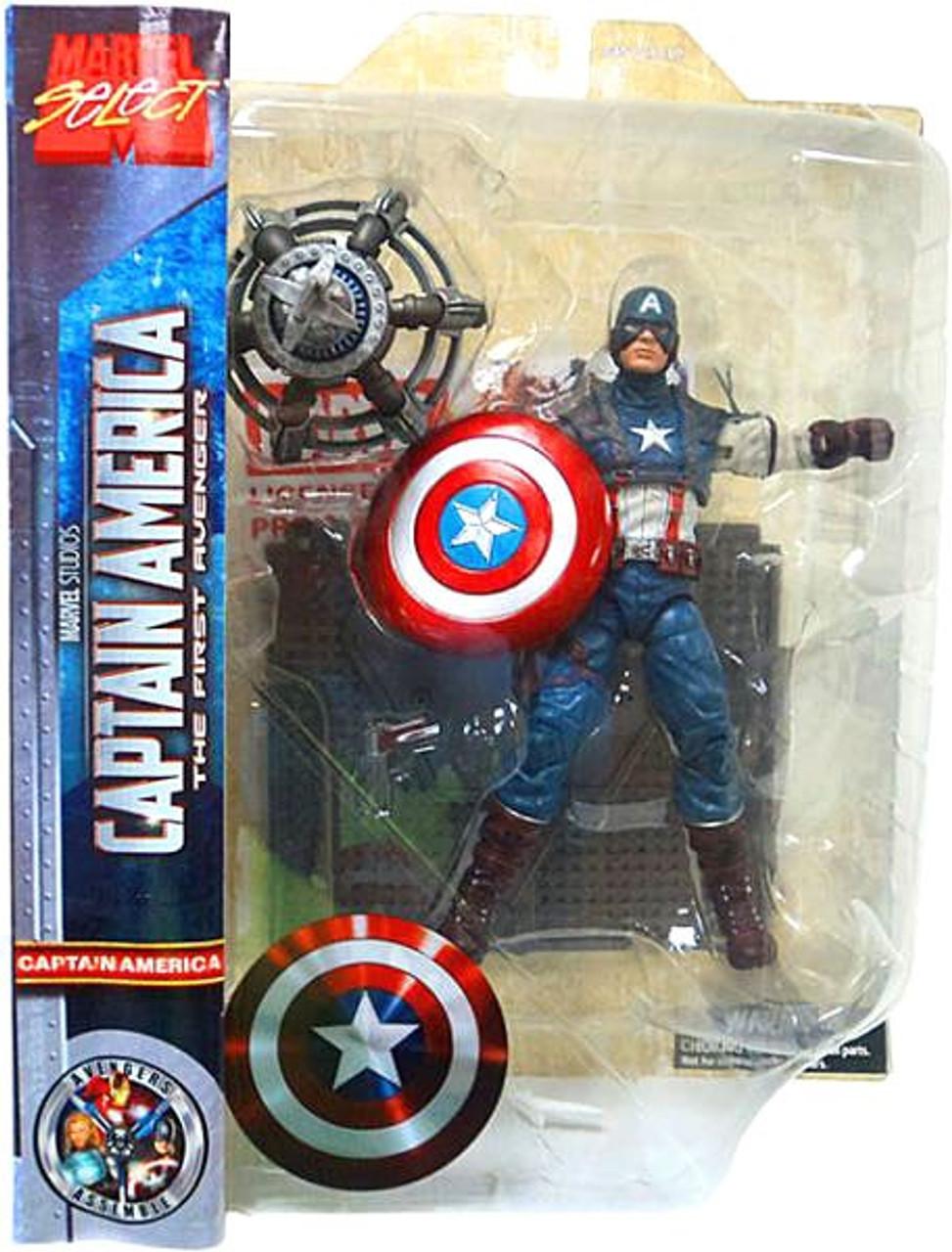 The First Avenger Marvel Select Captain America Action Figure [The First Avenger]