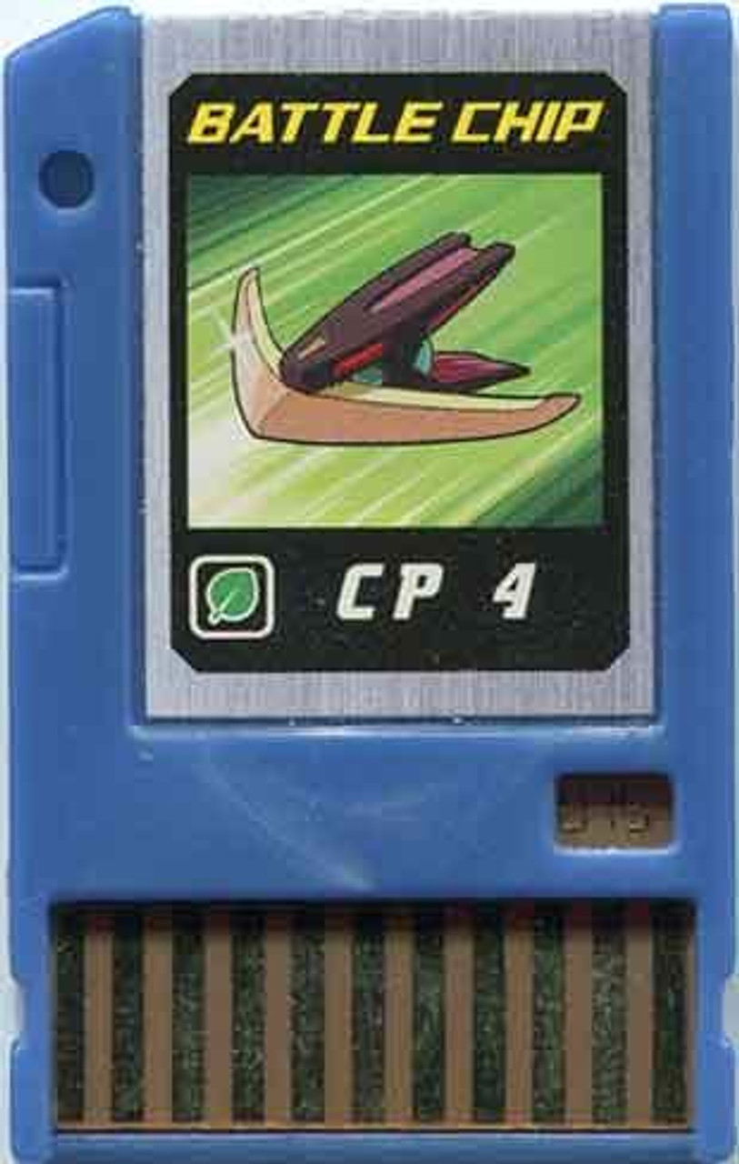 Capcom Mega Man Japanese PET CP 4 Battle Chip #075