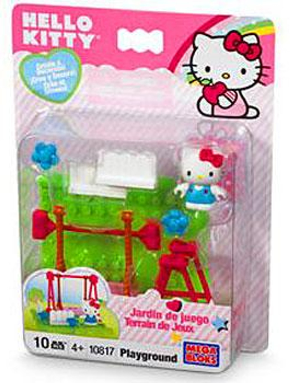 Mega Bloks Hello Kitty Playground Set #10817