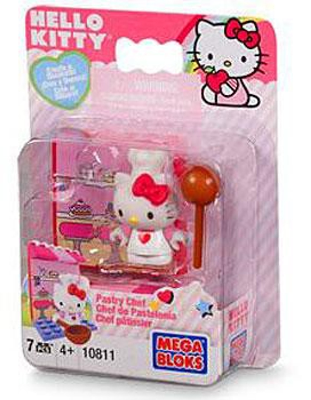 Mega Bloks Hello Kitty Create & Decorate Pastry Chef Set #10811