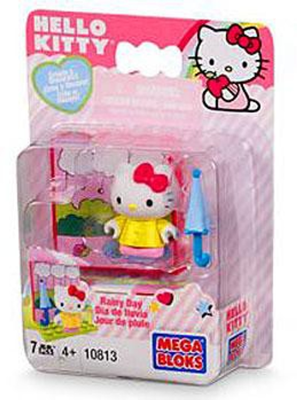 Mega Bloks Hello Kitty Create & Decorate Rainy Day Set #10813