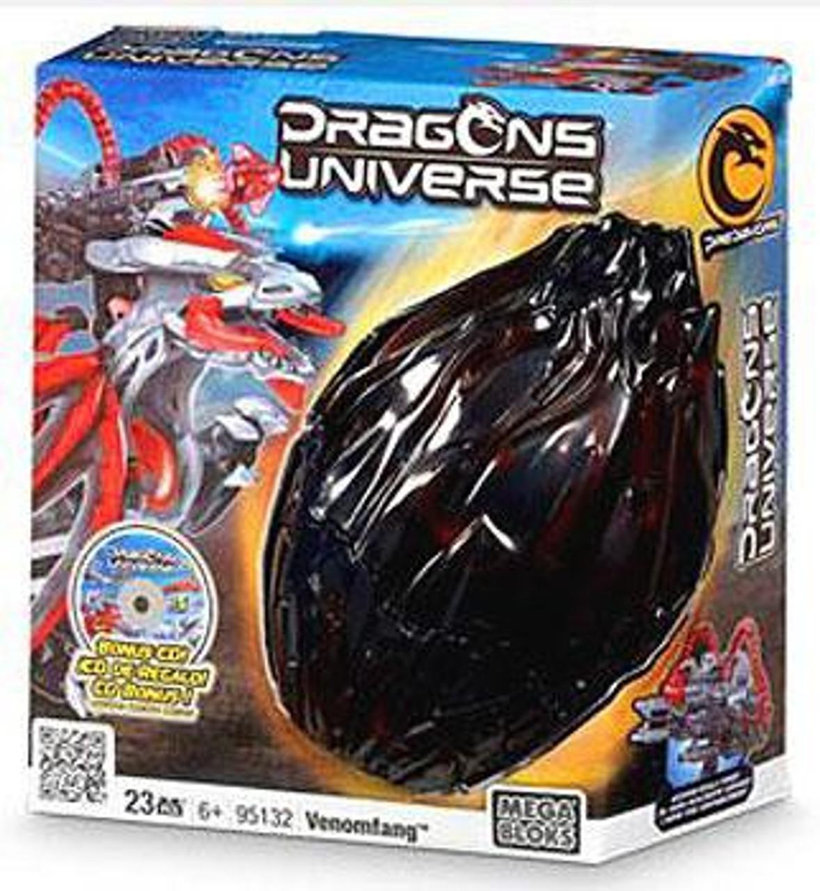 Mega Bloks Dragons Universe Venomfang Set #95132