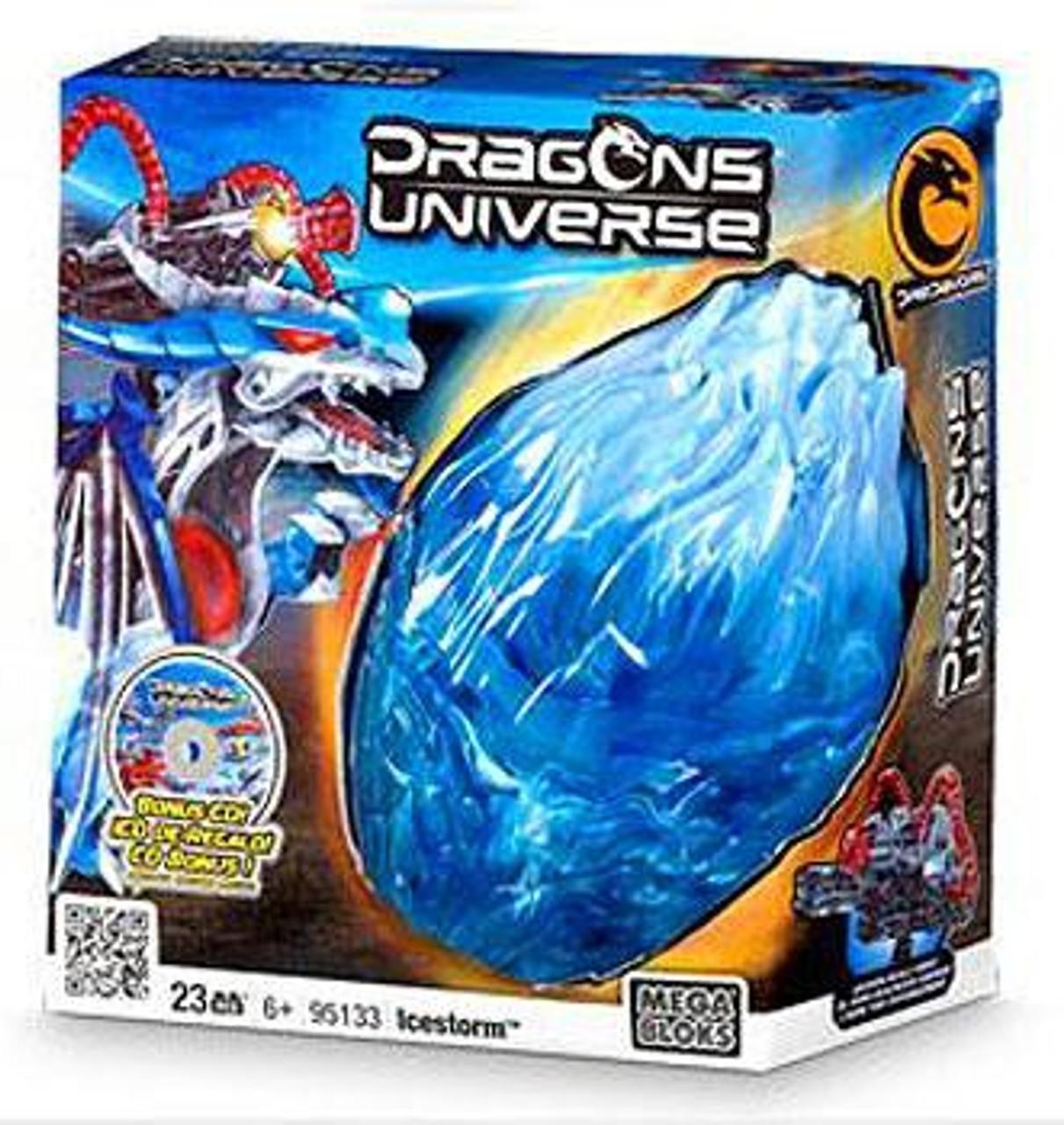 Mega Bloks Dragons Universe Icestorm Set #95133
