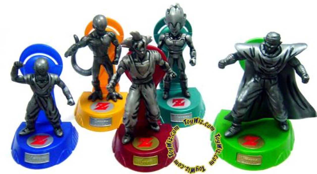Dragon Ball Z Burger King Collection Set of 5 Figures [Loose]