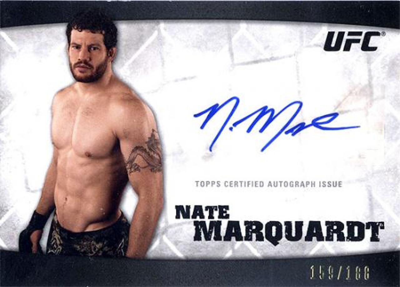 UFC 2010 Knockout Autograph Nate Marquardt A-NM A-NM