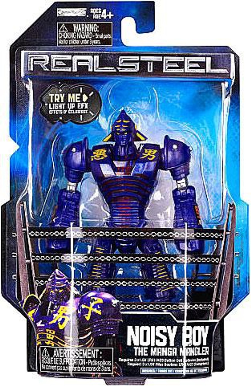 Real Steel Series 1 Noisy Boy Action Figure [The Manga Mangler]