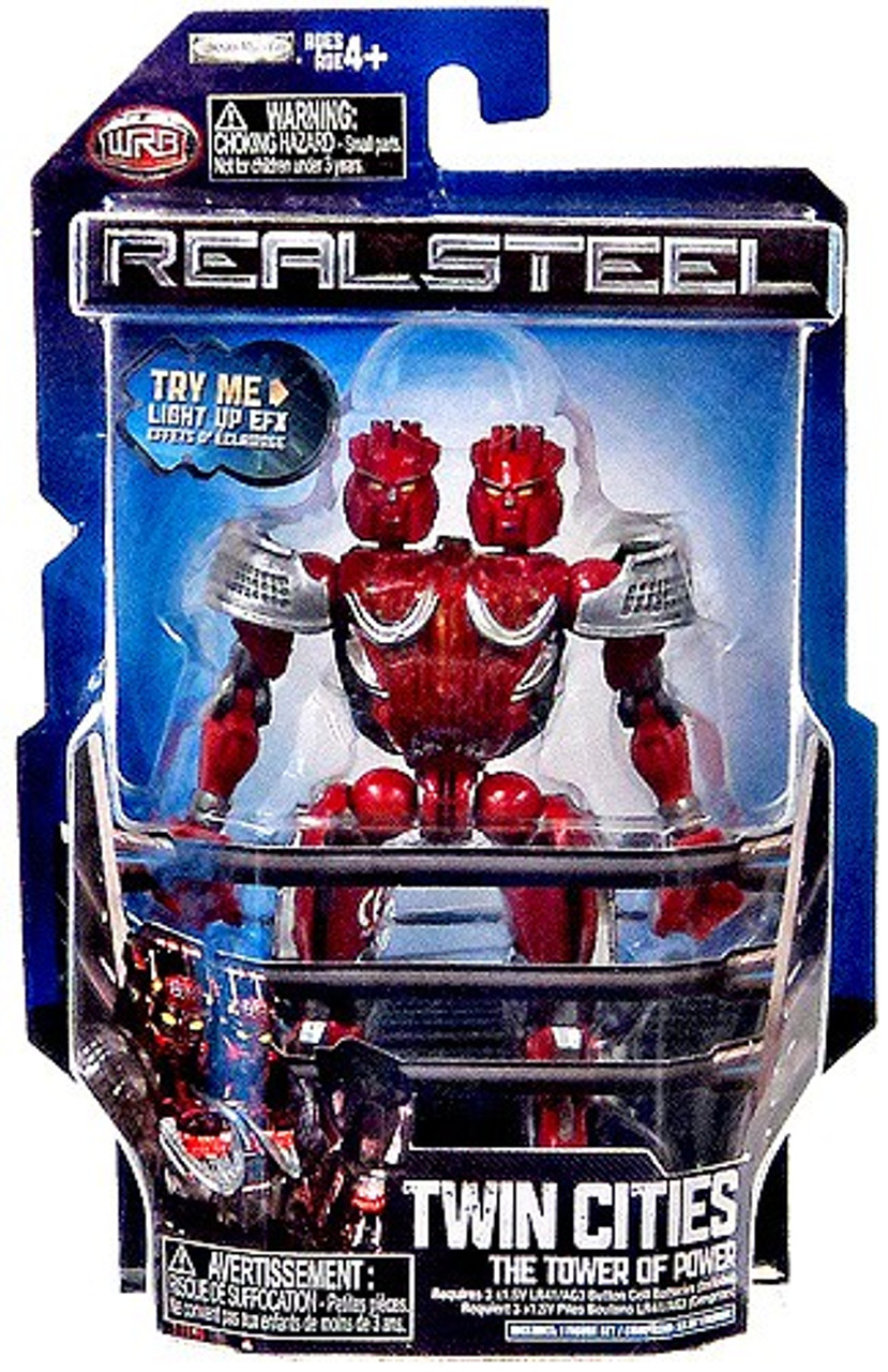 Real Steel Twin Cities Action Figure [The Tower of Power]