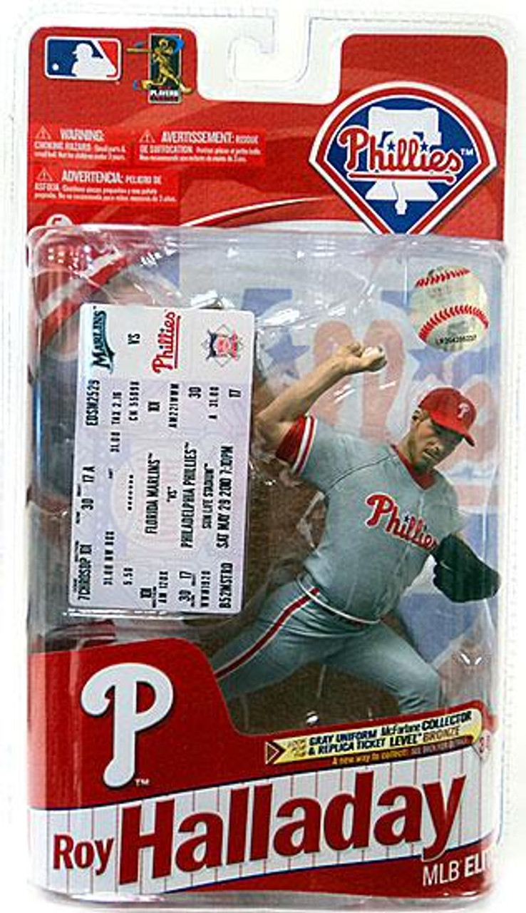 McFarlane Toys MLB Sports Picks 2011 Elite Series Roy Halladay (Philadelphia Phillies) Action Figure [Gray Jersey]