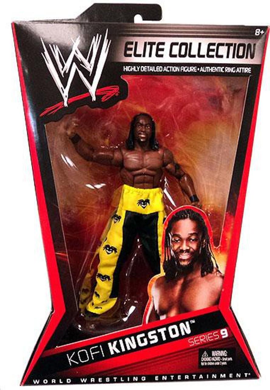 WWE Wrestling Elite Series 9 Kofi Kingston Action Figure