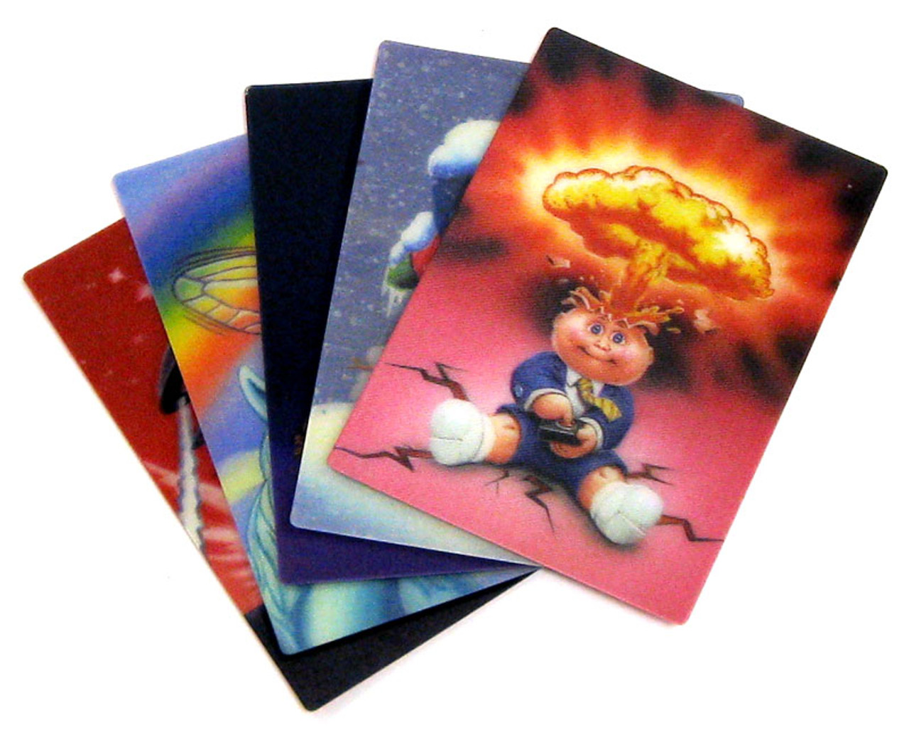 Garbage Pail Kids Flashback Series 2 3D Cards Set