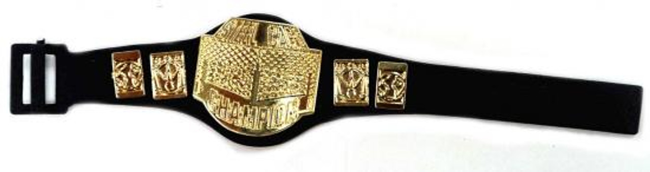 WWE Wrestling Steel Cage Champion Belt Action Figure Accessory