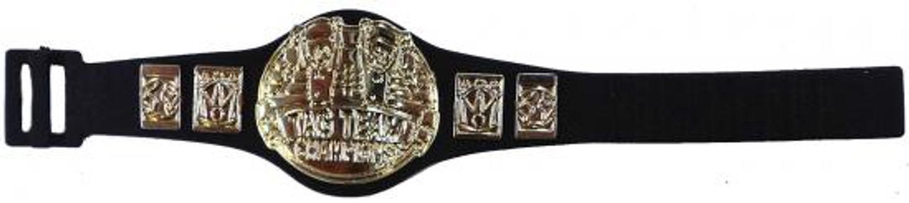 WWE Wrestling Tag Team Champions Belt Action Figure Accessory