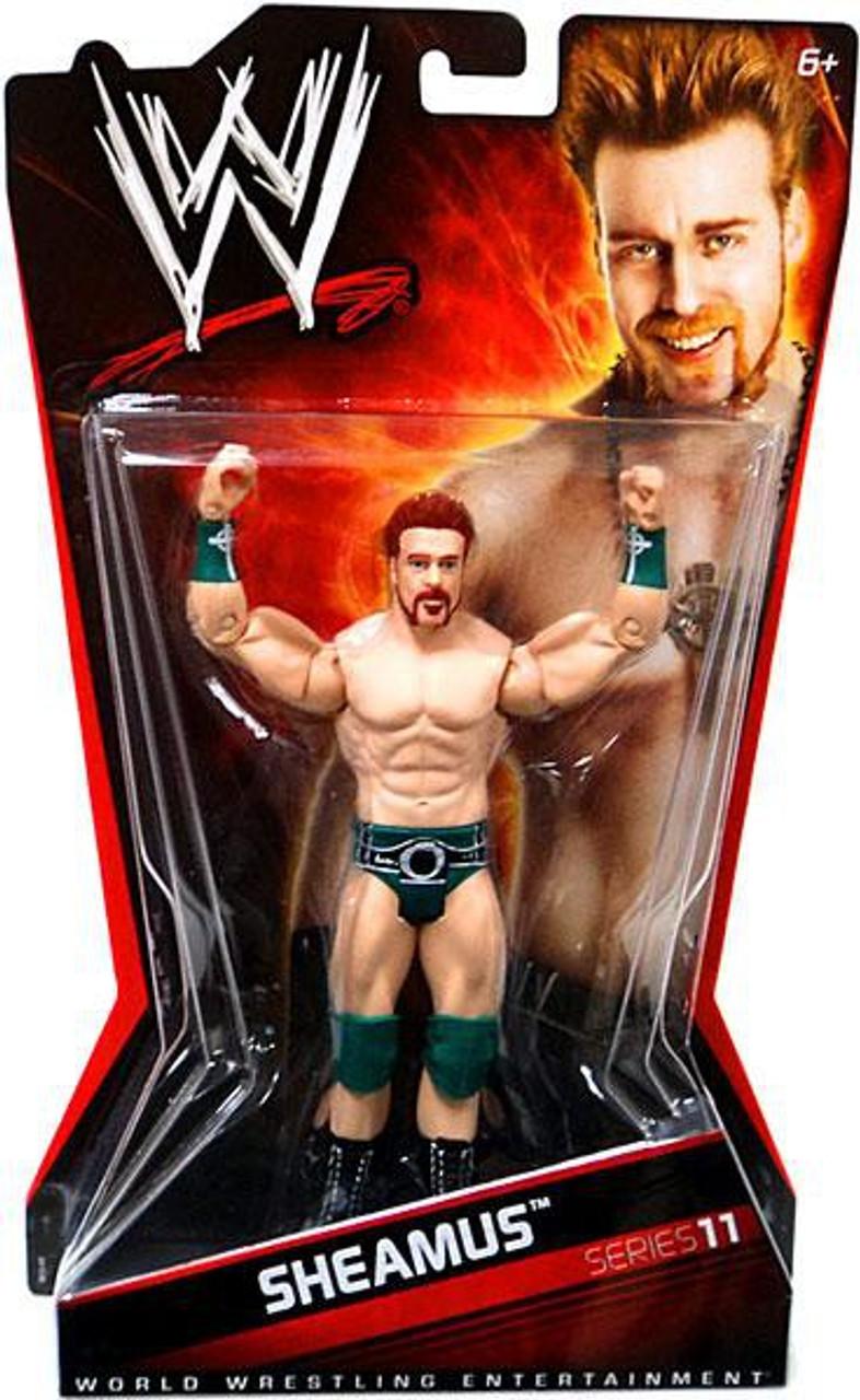WWE Wrestling Series 11 Sheamus Action Figure