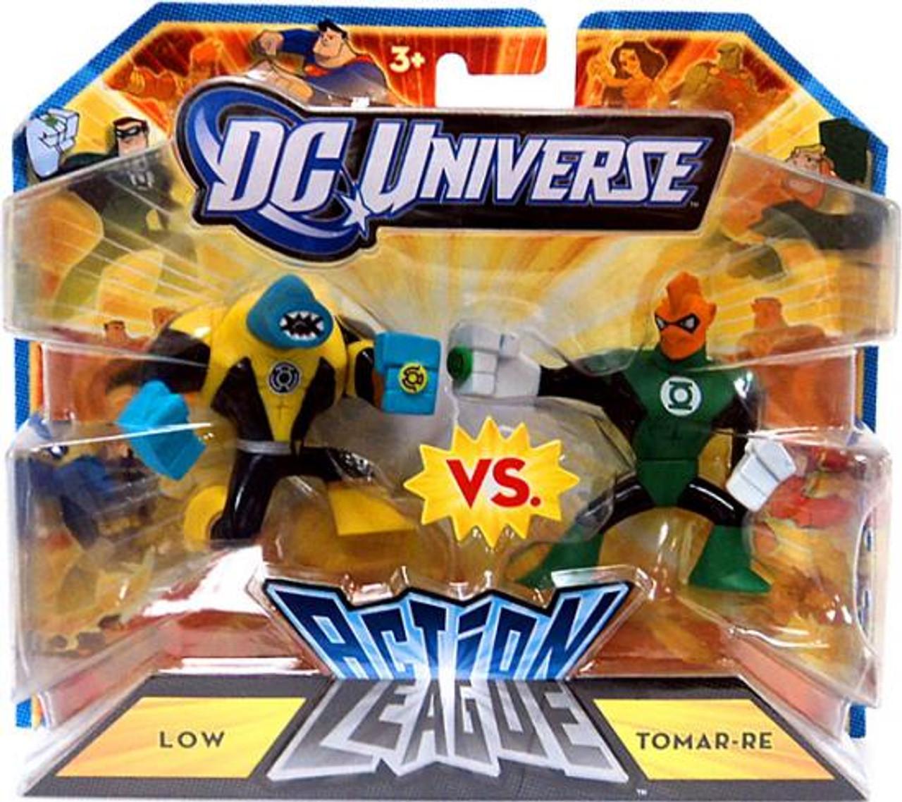 DC Universe Green Lantern Action League Low vs. Tomar-Re 3-Inch mini Figures