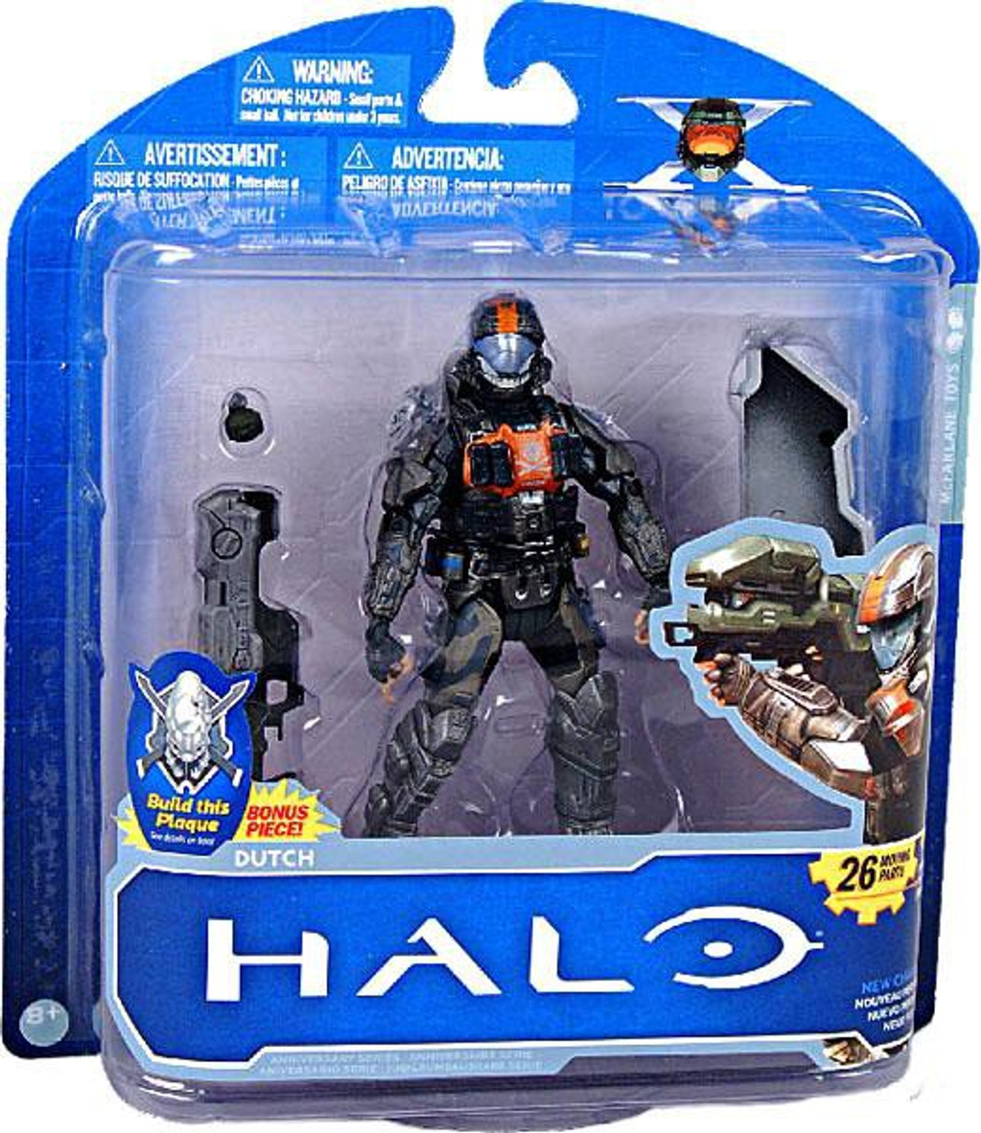 McFarlane Toys Halo 3 10th Anniversary Series 1 Dutch Action Figure