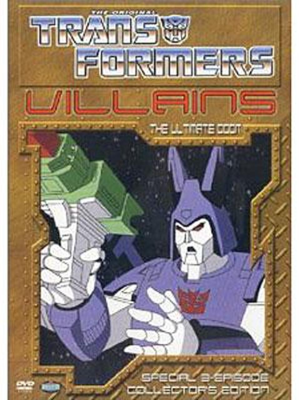 Transformers Villains: The Ultimate Doom DVD