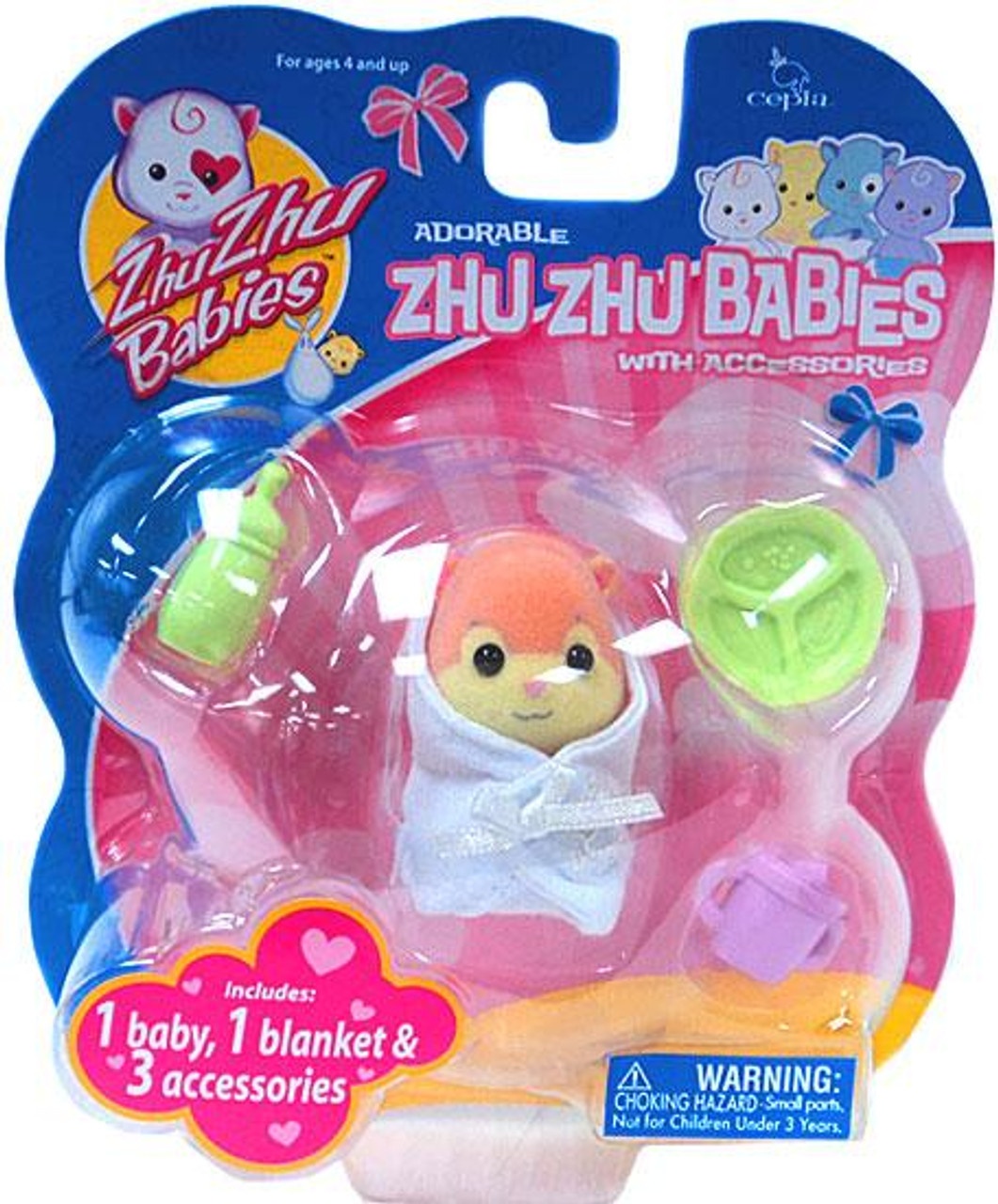 Zhu Zhu Pets Babies Snuggems Zhu Zhu Baby [Peach]