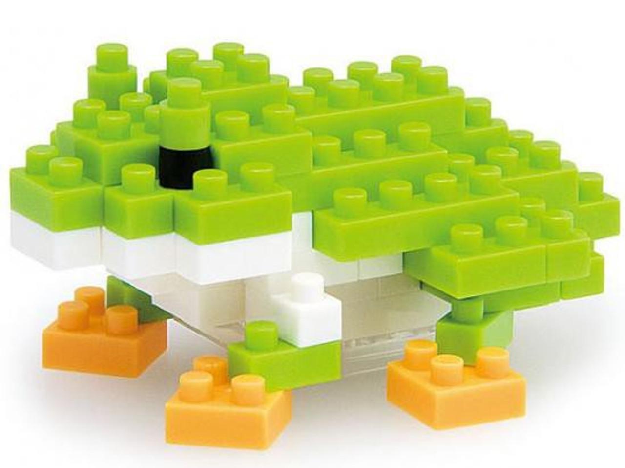Nanoblock Micro-Sized Building Block Japanese Tree Frog Figure Set