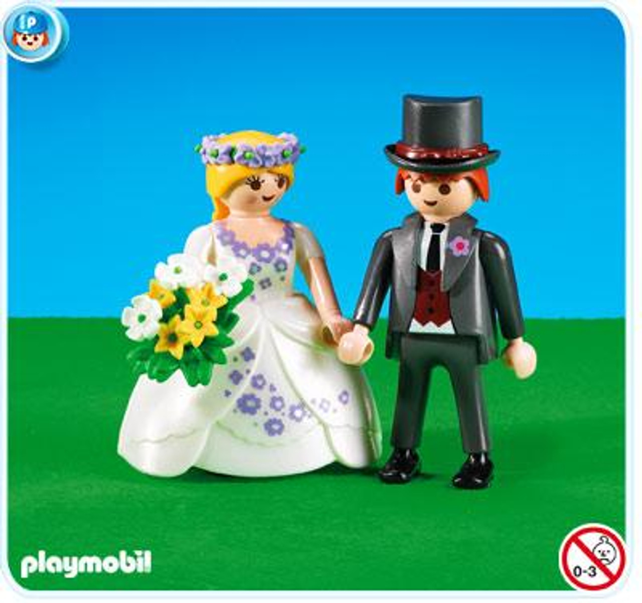 Playmobil Figures Bride & Groom Set #7497