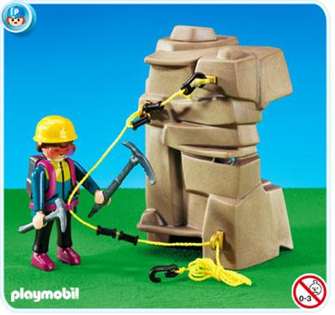 Playmobil Vacation & Leisure Mountaineer Set #7529