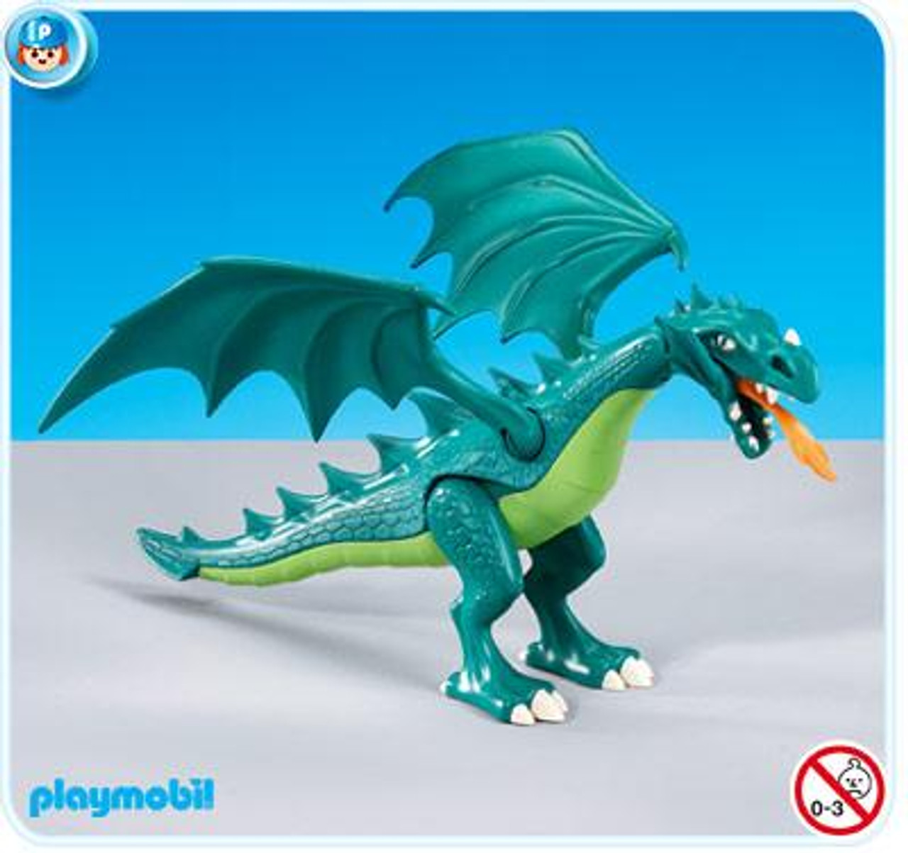Playmobil Dragon Land Green Dragon Set #7481